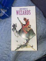 Wizards VHS Video Fantasy Ralph Bakshi Anime Rare 1977 #1342 1ST EDITION