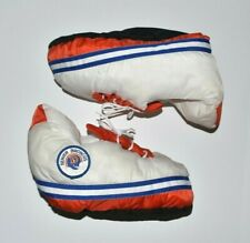 Vintage Retro Carousel By Guy DENVER BRONCOS NFL Puffy Shoe Slippers XL