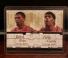 2003-04 Fleer Mystique Awe Pairs Basketball Card #4 Jalen Rose Eddy Curry #10/30