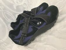 Womens Vintage NIKE ACG POOH-BAH Suede Cycling Shoes Size 8 US Blue Bike Nice!