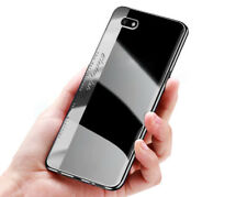 ^ LG Q7 SILBER Bumper Prestige NEW Schutz Handy Silikonhülle Back Case Cover