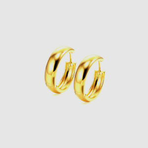 Small Smooth Hoop Huggie Earrings Gold Filled Earrings Jewelry for Womens Mens