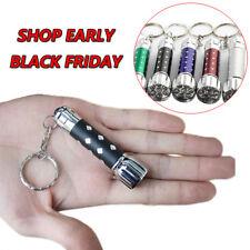 1pcs Mini LED Taschenlampe Schlüsselanhänger Wiederaufladbar Batterien Fackel