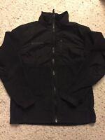 Columbia. Girls. Size 10–12. Black. Fleece Zip Up Jacket. Excellent Condition.