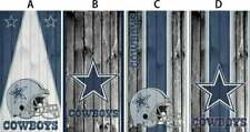 Cornhole board Vinyl Wrap Cowboys FREE SHIPPING (one wrap)