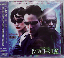 Don Davis-The Matrix-Original Soundtrack-Japan CD OBI (CPC8-1056)-New sealed