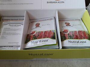 NUTRALINEA 35 x Lupinen Proteinshake  Erdbeer&Kirschgeschmack von Barbara Klein
