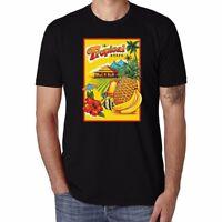 Tropical State Fruit pineapple Funny Men T-shirt Ringer Short Sleeve Tops Tee