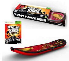 Tony Hawk: Shred Board XBOX 360 avec Game Bundle Pal Royaume-Uni vendeur