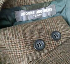 Vtg 50s 60s Brooks Brothers Suit Flannel Wool 38L Blazer Jacket Pant 38X30 tweed