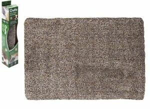 Crufts Dirty Paws Door Mat in Open Window Colour Box