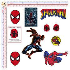 sticker spider man helmet uomo ragno adesivi auto moto casco print pvc 10 pz.
