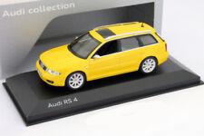 Audi RS4 Avant B5 Imola gelb Baujahr 1999 - 2001 1:43 Minichamps