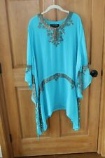 NWT 3X  COLLEEN LOPEZ EMBELLISHED  COVERUP GREAT FOR THE BEACH!