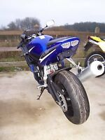 YAMAHA YZF R1 '2003' R&G Number / Licence Plate Holder TAIL TIDY LP0002BK