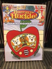 Hurray for Huckle Zooming Around Busytown DVD Region 1 Import
