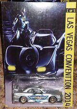 Custom Hot Wheels 2014 Las Vegas Convention Batman Nissan Skyline R34 Riders 1/5