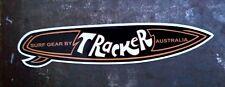"""""""TRACKER SURF GEAR"""" SURFBOARD DECAL / STICKER 1970's RETRO SURFING SURF"""