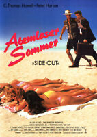 Atemloser Sommer ORIGINAL A1 Kinoplakat gerollt C. Thomas Howell / Peter Horton