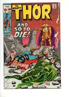 Thor #190 HELA v THOR & ODIN COVER/STORY! HIGH GRADE VF/NM 9.0/8.5 GORGEOUS 1971