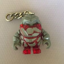 Lego Power Miners Rock Monster Red Key Chain Version