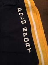 VTG 90s Polo Sport Ralph Lauren Spell Out Shorts Trunks L RLX Spring Break