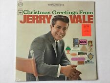 JERRY VALE Christmas Greetings From 1964 CS9025 Silver Bells O Holy Night SEALED