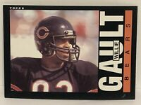1985 Topps Willie Gault Chicago Bears NFL Football Card #29 NFL NrMt  Tennessee