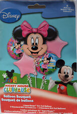 MINNIE MOUSE PARTY SUPPLIES MINNIE 5 FOIL BALLOON BOUQUET