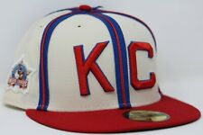 New Era KC Kansas City Monarchs Negro League Patch Hat SZ 7 1/4 5/8 NEW