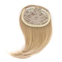 Short neat bangs Clip on Front Neat Bang Fringe Clip in Hair Extension Bang YA9C