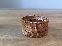 Philippe Audibert Paris Vintage Gold-plated bead bracelet New