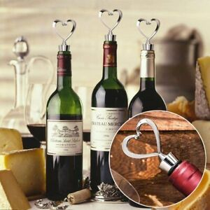 Heart Leak Proof Champagne Wine Beer Bottle Stopper Cork Drink Sealer Plug Bar