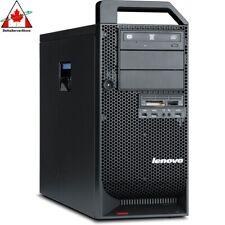 Lenovo IBM Thinkstation D20 2x 3.33GHz Hex Core X5680 48GB 2x1TB Win7