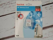 SanDisk 2GB SD Memory Card For Wii / Camera New.