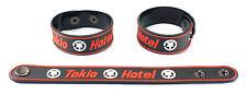 TOKIO HOTEL NEW! Rubber Bracelet Wristband Free Shipping Humanoid  aa38
