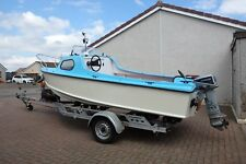 Fishing Boat with camping package