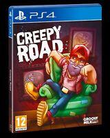 Creepy Road - Sony PlayStation 4 [PS4 Platformer Adventure Side-Scroller] NEW