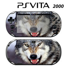 Vinyl Decal Skin Sticker for Sony PS Vita Slim 2000 Wolf