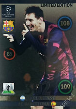 Lionel Messi Limited Edition - Panini Adrenalyn Champions League 2014/15 UPDATE
