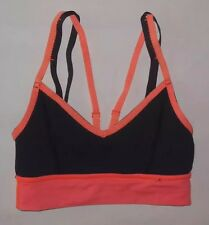 LULULEMON FLIP YOUR DOG BRA LIGHT FLARE INKWELL YOGA PILATES RUNNING EUC size 2