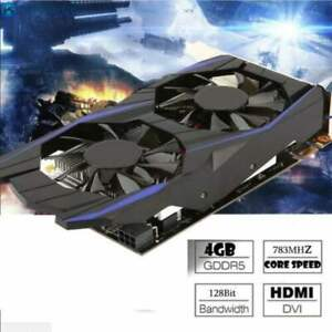 Desktop Graphics Card GTX1050TI 4GB DDR5 128Bit HDMI DVI VGA PCI-E Video Card