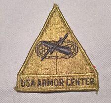 US ARMY USA ARMOR CENTER PATCH