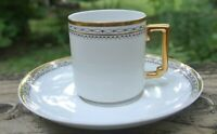 "Vintage H.Co. Selb Bavaria ""Imperial"" Demitasse Cup and Saucer"