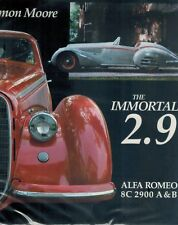 IMMORTAL 2.9: Alfa Romeo 8C 2900 A&B 1987 1st Edition HC BOOK