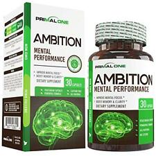 Ambition Nootropic Brain Booster Supplement - Enhance Focus, Boost Memory