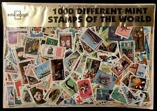 1000 ALL DIFFERENT WORLDWIDE MINT NH TOPICAL STAMPS COLLECTION LOT WILDLIFE ART