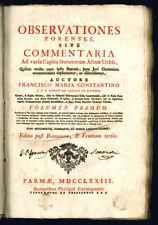 Observationes forenses, sive Commentaria ad varia capita statutorum al