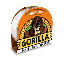 Gorilla - White Tape Roll - Gorilla tough - Grips Smooth Rough Uneven Surfaces