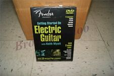 Fender Getting Started on Electric Guitar w/ Keith Wyatt DVD 5 Languages NEW